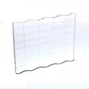Stamping Grid Acrylic Block - 5.75 x 4.75 Inches