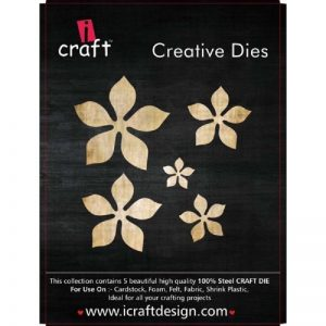 iCraft Flower Making Creative Five Dies Style 2