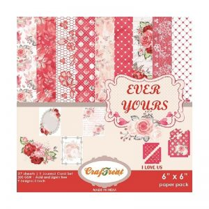 Ever Yours - Craftreat 6 x 6 Paper Pack