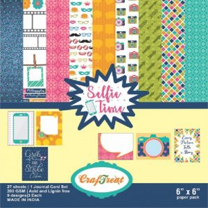 Selfie Time - Craftreat 6 x 6 Paper Pack