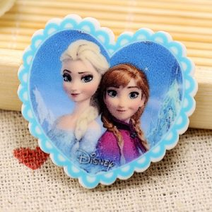 Anna and Elsa Frozen Resin Embellishment