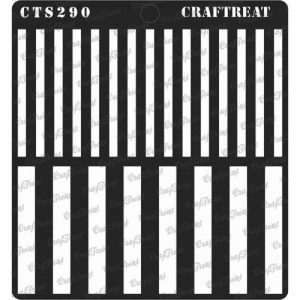 CrafTreat Stencil - Stripes