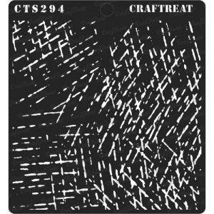 CrafTreat Stencil - Scratches