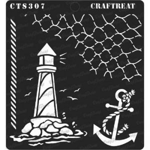 CrafTreat Stencil - Nautical