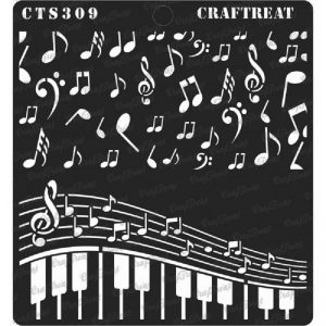 CrafTreat Stencil - Musical