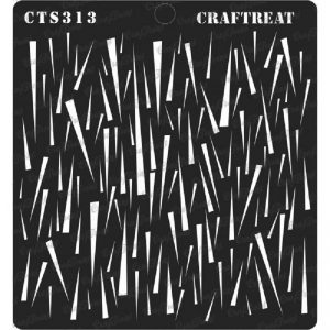 CrafTreat Stencil - Shards