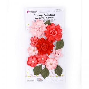 Handmade Rose Flower - Mixed Melody Pink