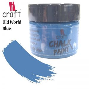 I Craft Chalk Paint - Old World Blue 100ml