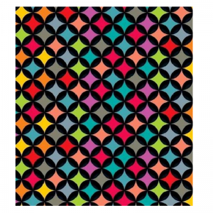 Mixed Colour Harlequin Pattern Paper