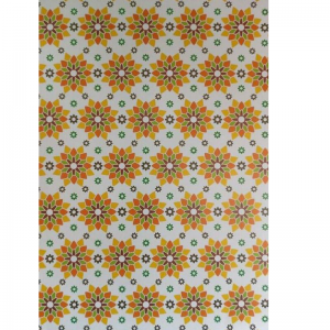 Mixed Colour Flowers Pattern Paper