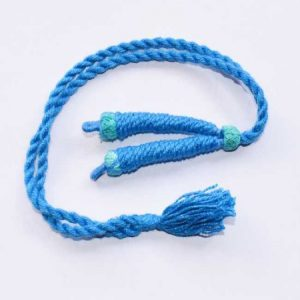 Baby Blue Twisted Cotton Thread Neck Rope