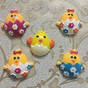 Easter Chicks Resin Embellishment