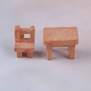 Miniature Table And Chair