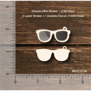 Glasses Mini Shaker Mudra Chipzeb