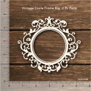 Vintage Circle Frame Big Mudra Chipzeb