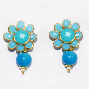 Blue Pachi Earrings