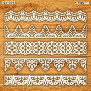 Craftreat Chiplets - Ornate Border