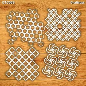 Craftreat Chiplets - Distressed Patterns