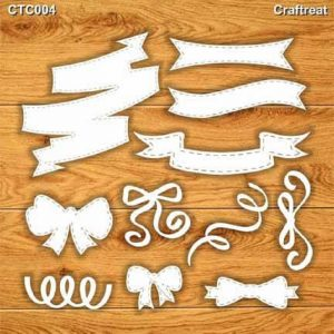 Craftreat Chiplets - Banners and bows