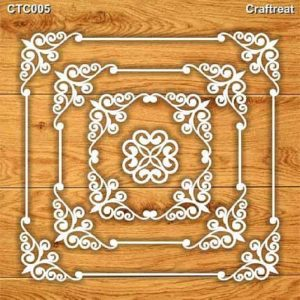 Craftreat Chiplets - Square Frames