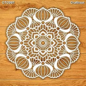 Craftreat Chiplets - Mandala 2