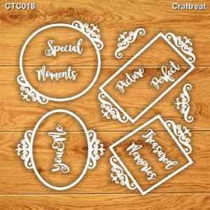 Craftreat Chiplets - Assorted Frames
