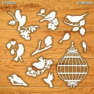 Craftreat Chiplets - Birds