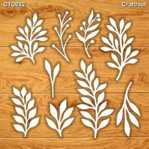 Craftreat Chiplets - Foliage 1