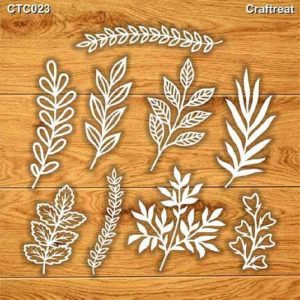 Craftreat Chiplets - Foliage 2