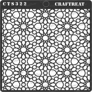 CrafTreat Stencil - Arabic Pattern