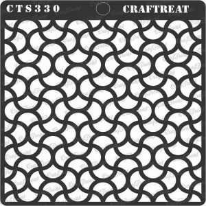 CrafTreat Stencil - Intertwined