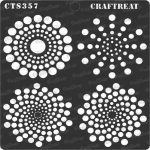CrafTreat Stencil - Dot Mandala Basics