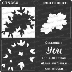 CrafTreat Stencil - You are a blessing