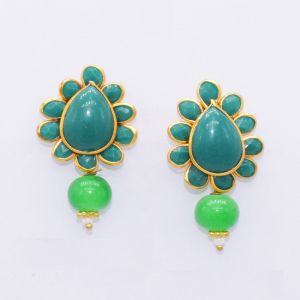 Green Pachi Earrings