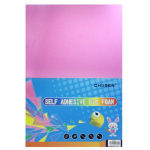 Pink Colour Foam Sheets Pack