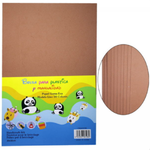 Brown Colour Foam Sheets Pack
