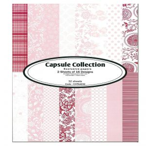 Capsule Collection Pattern Paper Pack