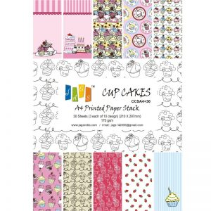 Cup Cakes Pattern Paper Pack