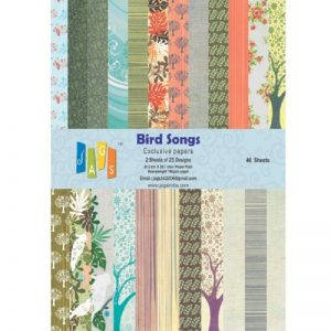 Bird Songs Pattern Paper Pack