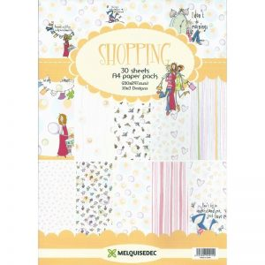 Shopping Pattern Paper Pack