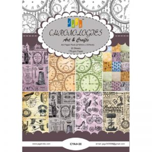 Chronologies Pattern Paper Pack