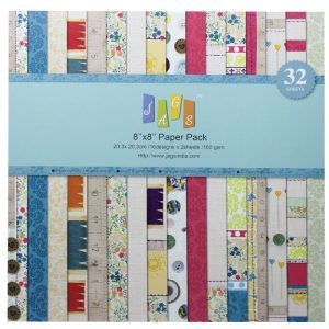 Mania 8x8 Pattern Paper Pack