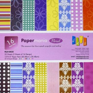Floral 12X12 Pattern Paper Pack