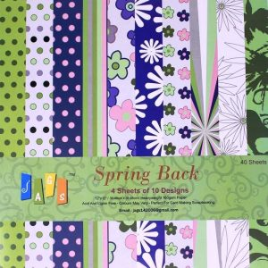 Spring Back 12x12 Pattern Paper Pack