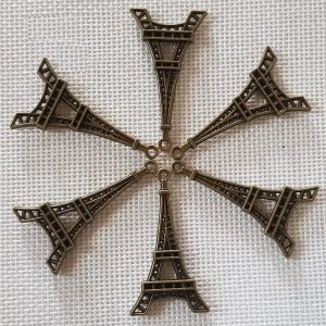 Antique Bronze Eiffel Charm