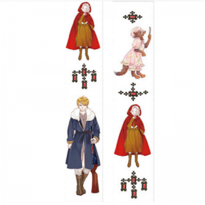 Red Riding Hood Washi Tape