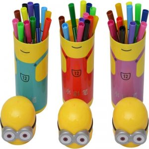 Mixed Colour Minion Sketch Pen Box