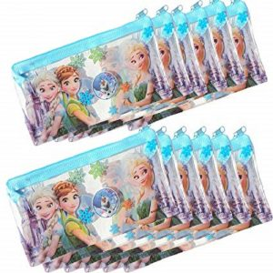 Frozen Theme Printed Small Pencil Pouches