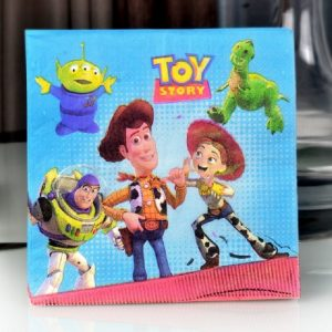 Toy Story Theme Decoupage Napkin