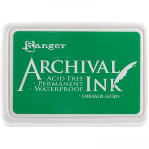 Ranger - Archival Emerald Green Ink Pad